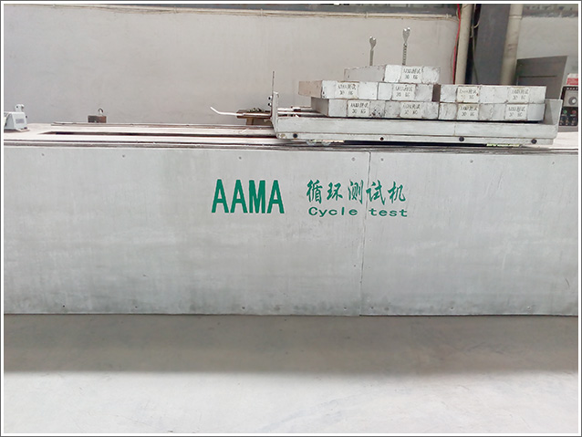 AAMA cycle test